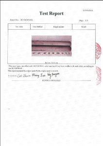 Сертификат за А453 660Б 3