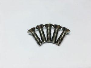 М3, М6 вијци с плочасти глава титана, глава поклопца за титан прирубнице за операцију кичме