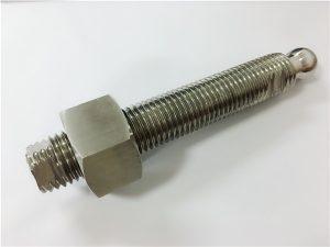 Но.22 ЦНЦ глодање нехрђајућег челика вијак и носач од нехрђајућег челика