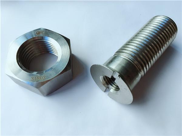 прилагођени вијак и матица од металног челичног металног челика