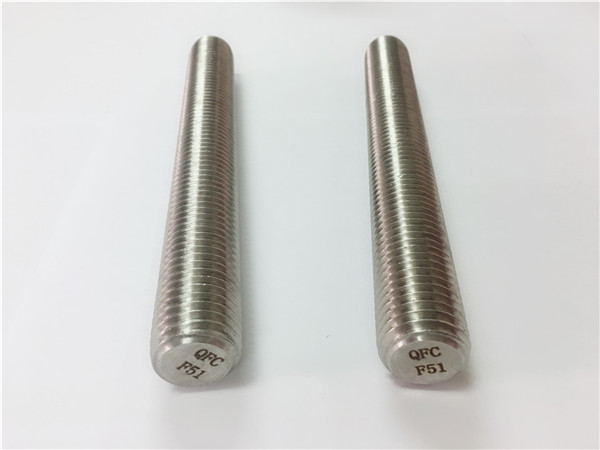 дуплек2205 / с32205 причвршћивачи од нехрђајућег челика дин975 / дин976 шипке са навојем ф51