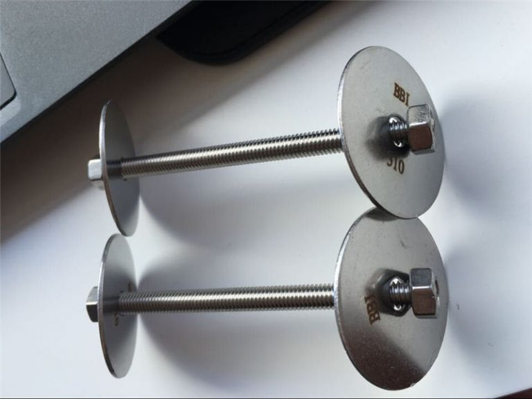 сс310 / сс310с затварач астм ф593, вијци од нехрђајућег челика, матице и подлошке