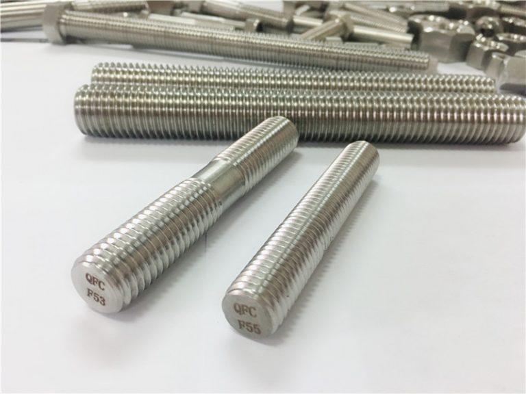 Прилагођени аутоматски носачи од нехрђајућег челика са двоструким навојем