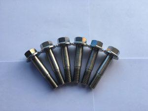 дин 7504 вијак са шестерокутном прирубницом од нерђајућег челика, шестерокутни вијак са прирубницом