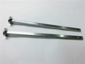 добављач учвршћивача хардвера 316 нехрђајући челик, равна глава квадратног грла дин603 м4 вијак за носач