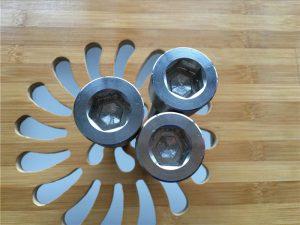 висококвалитетни АСЕМ шестерокутни вијак титанијум гр2 / вијак / матица / подлошка /