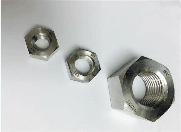 дуплек 2205 / ф55 / 1.4501 / с32760 причвршћивачи од нехрђајућег челика тешка шестерокутна матица м20