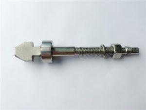 вијак за диск кочнице од титанијума са подлошцима за пехаре и конусне плочице